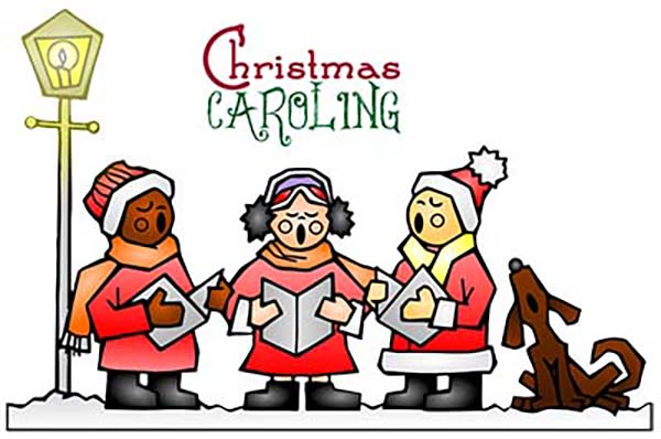The CollECtive Choir participates with Christmas caroling at the BeeHive Homes for Eau Claire