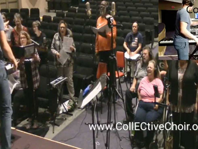 Our Hip Hop CollECtive Choirproduces Audio Recordings