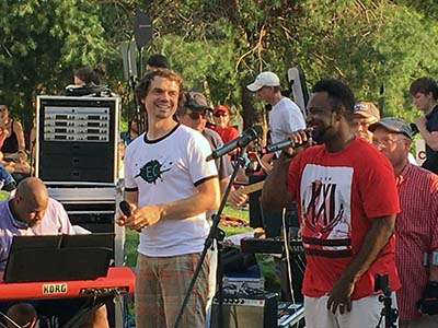 The Collective Choir performed at the 'Sounds Like Summer' Volume One concert with Tru Serva at Phoenix Park in Eau Claire Wi 2018.